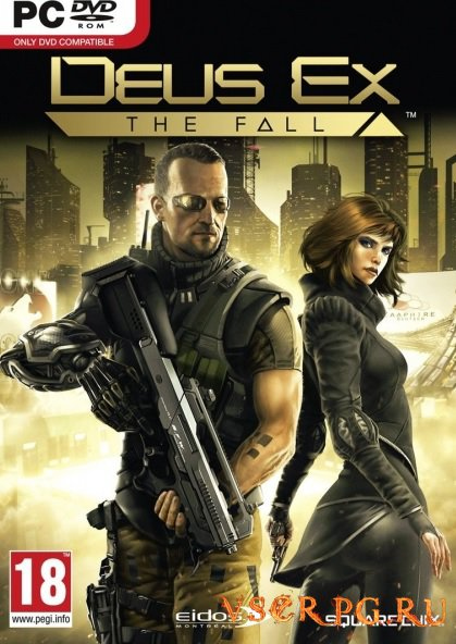 Постер игры Deus Ex The Fall