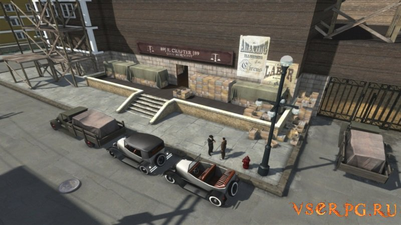 Omerta City of Gangsters screen 1