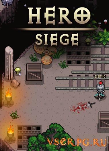 Постер игры Hero Siege