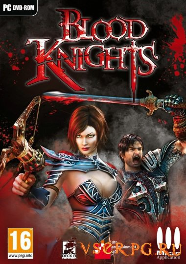 Постер игры Blood Knights