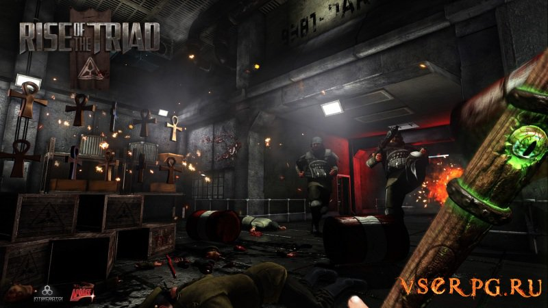 Rise of the Triad screen 1