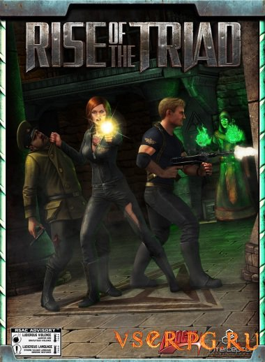 Постер игры Rise of the Triad