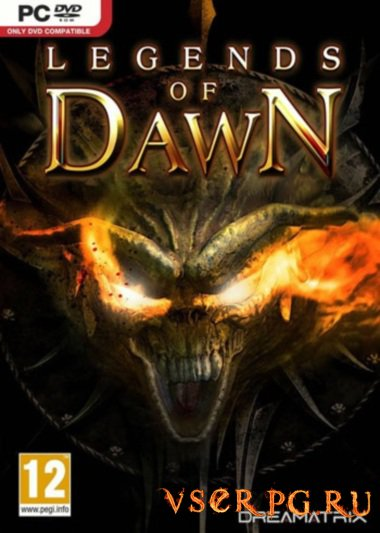Постер игры Legends of Dawn