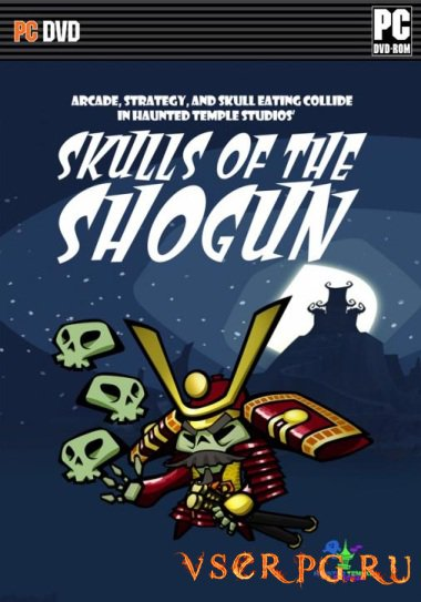 Постер игры Skulls of the Shogun