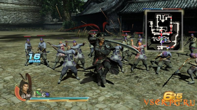 Dynasty Warriors 8 screen 1