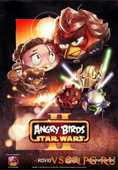 Постер игры Angry Birds: Star Wars 2