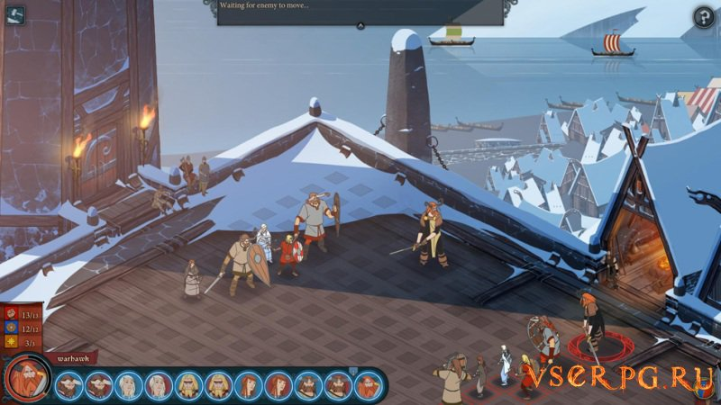 The Banner Saga: Factions screen 2