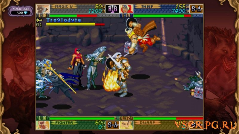 Dungeons & Dragons: Chronicles of Mystara screen 1