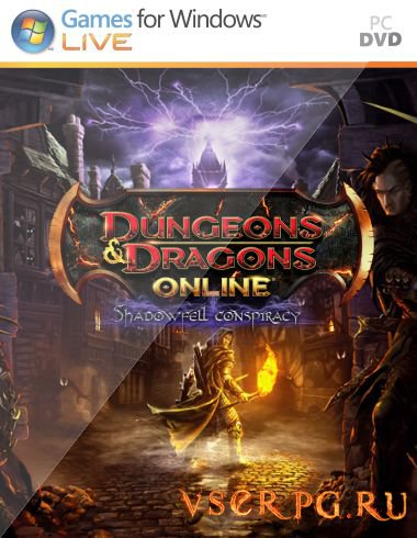 Постер игры Dungeons & Dragons Online: The Shadowfell Conspiracy