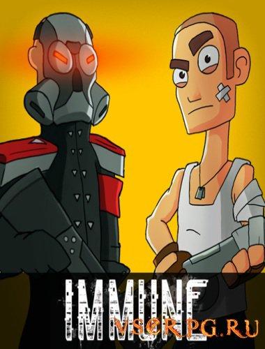 Постер игры Immune