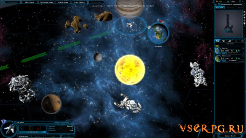 Galactic Civilizations 3 screen 3