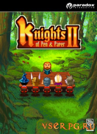 Постер игры Knights of Pen and Paper 2