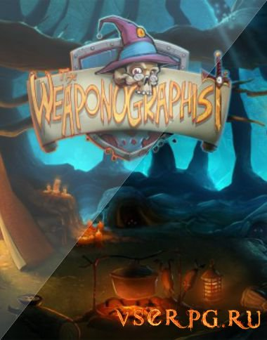 Постер игры The Weaponographist