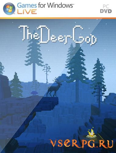 Постер игры The Deer God