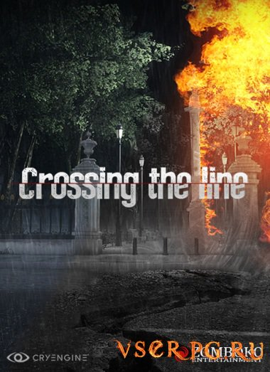 Постер игры Crossing the Line