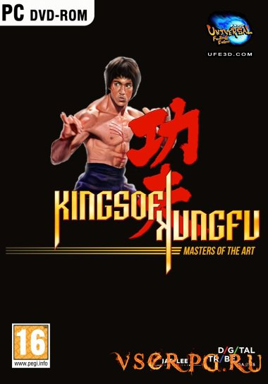 Постер игры Kings of Kung Fu