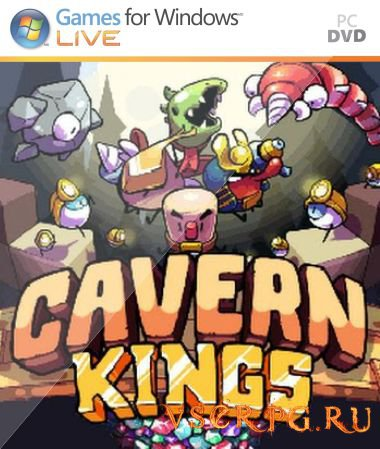 Постер игры Cavern Kings