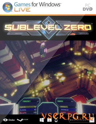 Постер игры Sublevel Zero