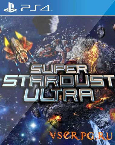 Постер игры Super Stardust Ultra