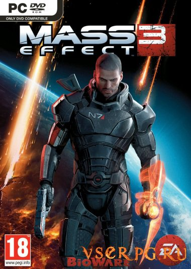 Постер игры Mass Effect 3