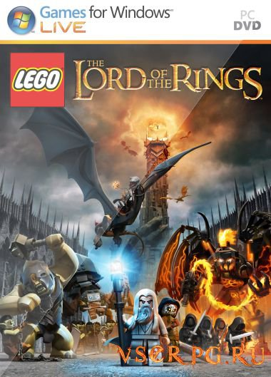 Постер игры LEGO The Lord of the Rings
