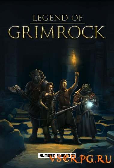 Постер игры Legend of Grimrock