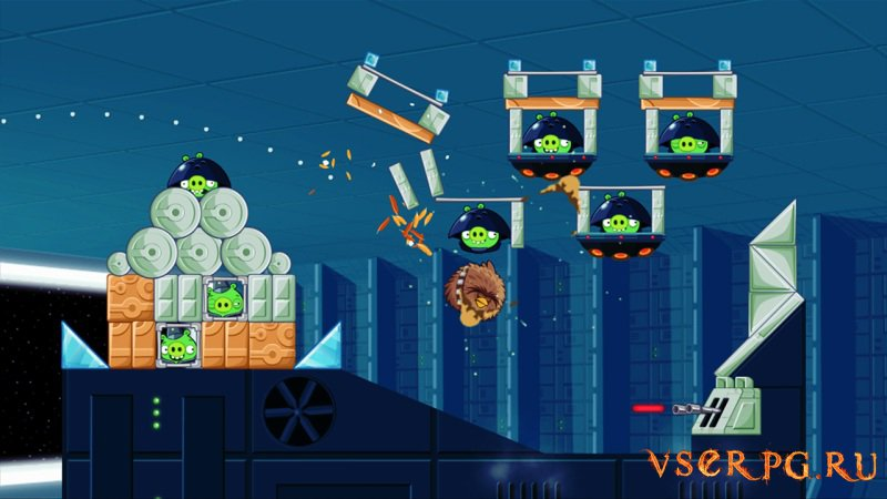 Angry Birds Star Wars screen 3