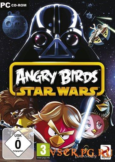 Постер игры Angry Birds Star Wars