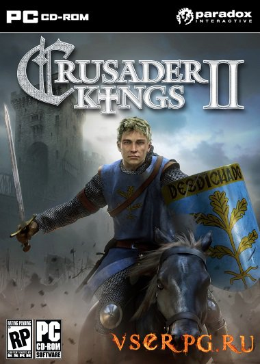 Постер игры Crusader Kings 2