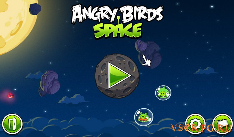 Angry Birds Space screen 1