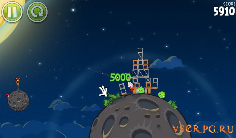 Angry Birds Space screen 3