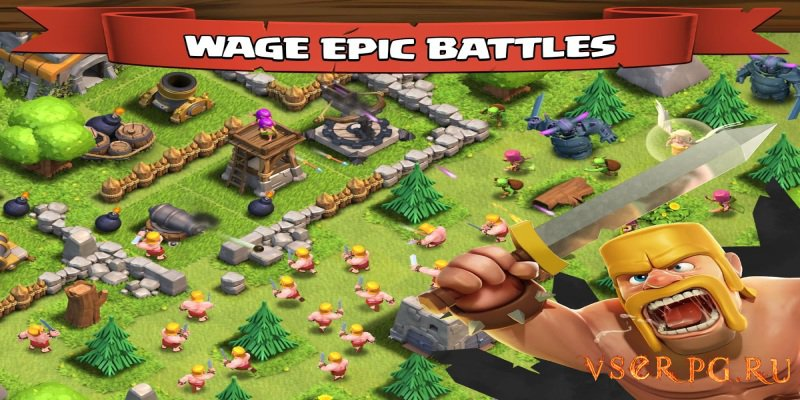 Clash of Clans screen 2