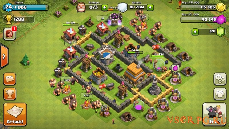 Clash of Clans [iOS iPhone] screen 2