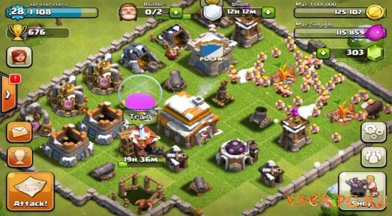 Clash of Clans [iOS iPhone] screen 1