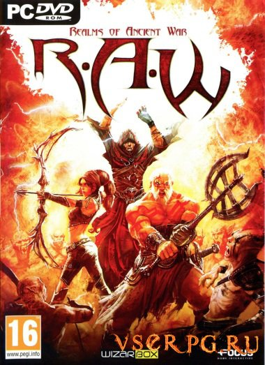 Постер игры R.A.W.: Realms of Ancient War