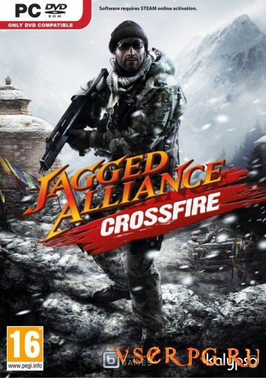 Постер игры Jagged Alliance: Crossfire