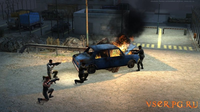 Jagged Alliance: Crossfire screen 1