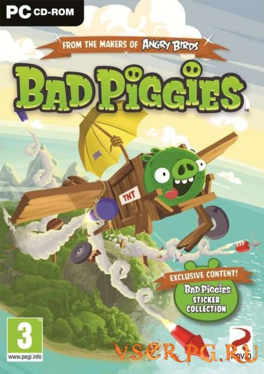 Постер игры Bad Piggies