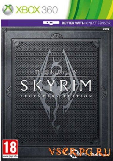 Постер игры Skyrim [Xbox 360]