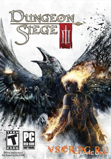 Постер игры Dungeon Siege 3