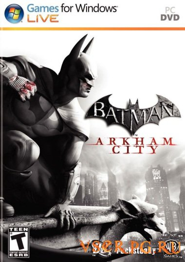 Постер игры Batman Arkham City