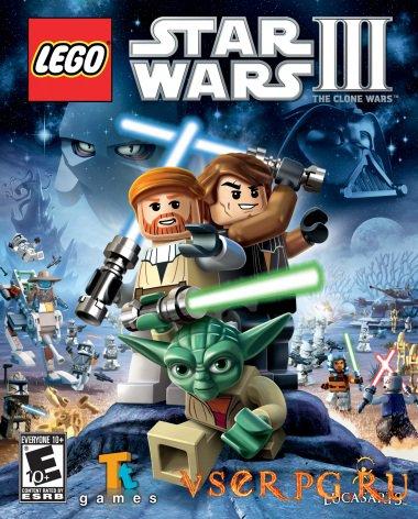 Постер игры Лего: Звездные войны 3