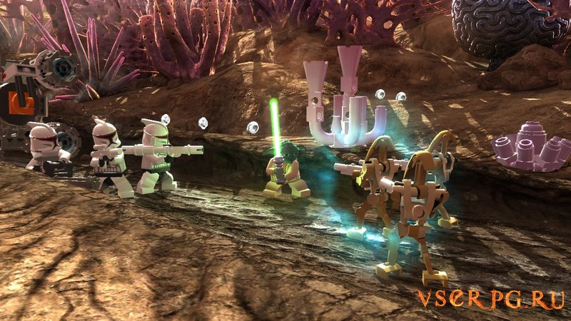Лего: Звездные войны 3 screen 3
