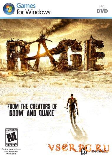 Постер игры RAGE