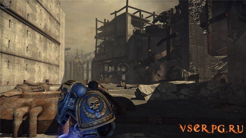 Warhammer Space Marine screen 2