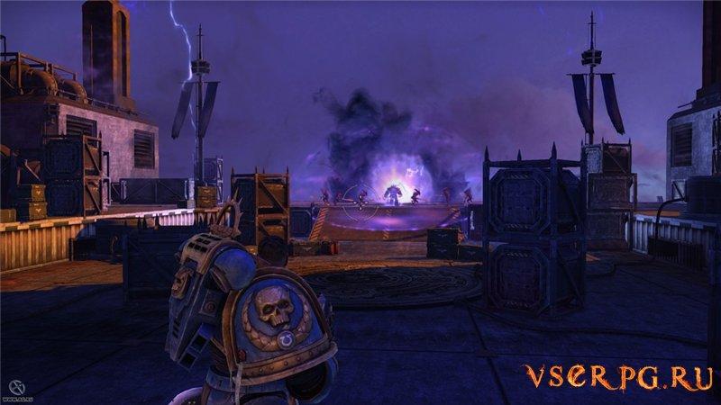 Warhammer Space Marine screen 1