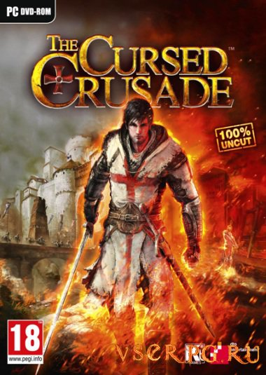 Постер игры The Cursed Crusade