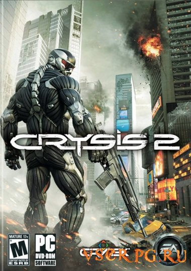Постер игры Crysis 2