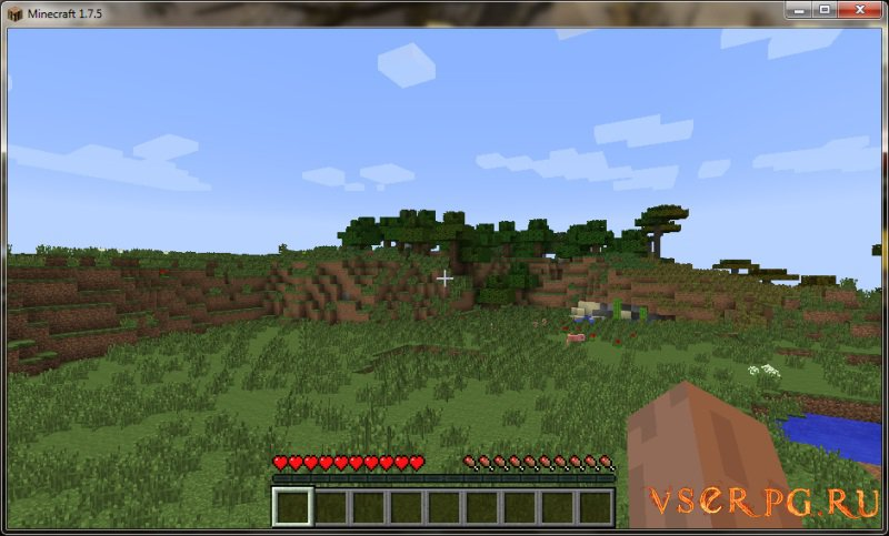 Minecraft 1.7.2 screen 1