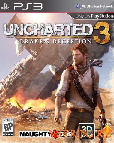Постер игры Uncharted 3
